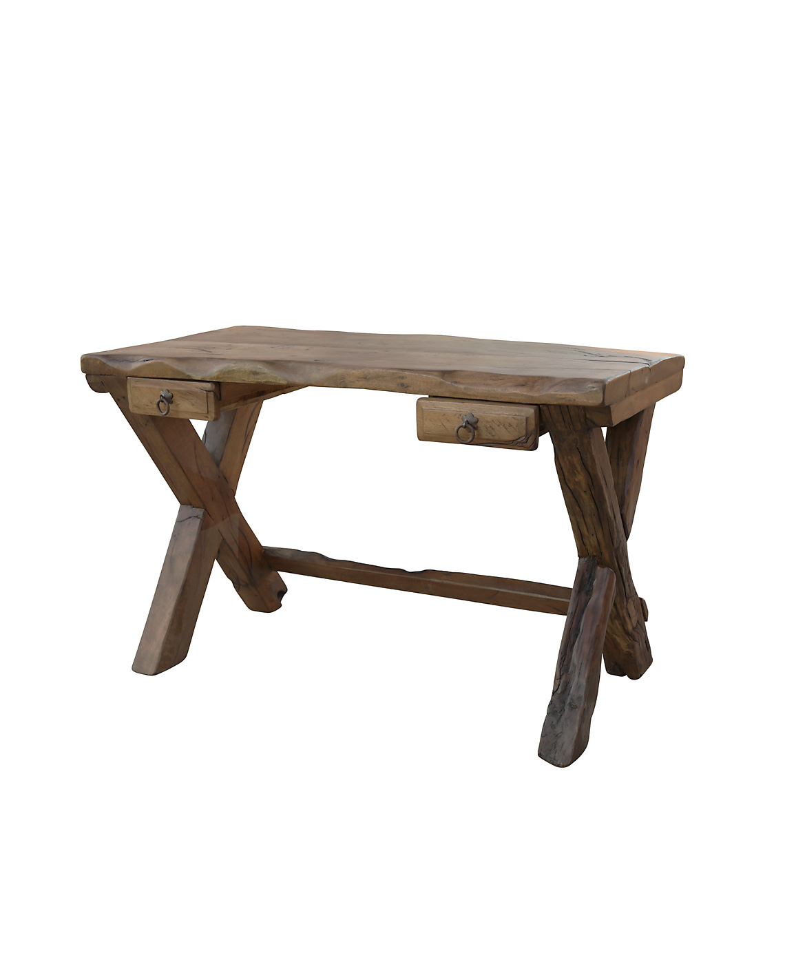 Harbow Live Edge Rustic Desk Luxury Rustic Furniture
